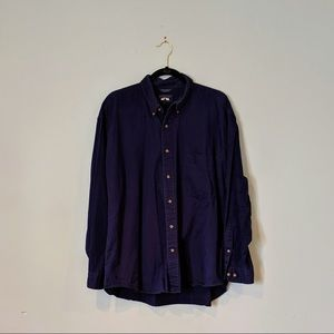 Woods & Gray Navy Button-up